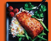 Spicy Thai Chili Glazed Salmon