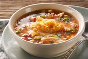 Low Fat Crock Pot Chicken Taco Soup