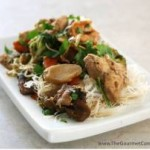 Paleo Chicken and Shrimp Stir Fry (paleo)
