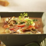 Oriental Stew with Maple Syrup