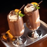 Chocolate Orange Ice Cream Soda