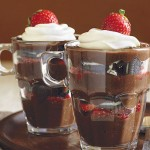 Chocolate, Strawberry & Cookie Parfaits