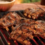 Fall-off-the-bone Honey Garlic Ribs