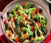 Asparagus with Oka Cheese