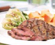 Grilled Papaya Flank Steak