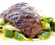 Spicy-Marinated Red Grill Angus Flank Steak