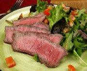 Bifteck de flanc à l'orientale