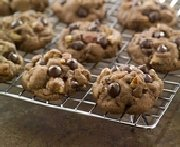 Decadent Double Chocolate Chip Cookies