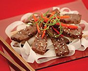 Honey and Ginger Beef