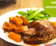 Classic Pot Roast with Sweet Potatoes