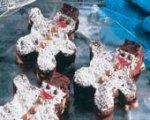 Winter Wonderland Snowmen Brownies