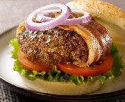 Beef and Bacon Burgers