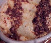 Cannelloni au veau et au mozzarella