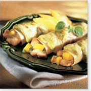 Pork Cannelloni with Basil and Mango