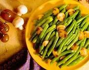Mushroom Buttered Green Beans