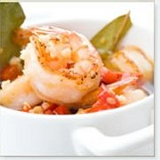 Garlic Shrimp with Red Peppers