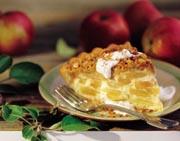 Apple Custard Crumble