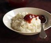 Raspberry Rice Pudding