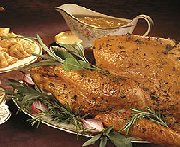 Herb Roasted Turkey with Onion Gravy