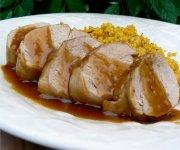 Filet de porc érable et mélasse
