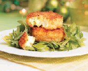 Cheddar Scallop Cakes