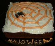 Gâteau aux carottes d'halloween de Baddy