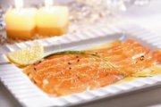 Salmon Gravlax with Maple Sugar