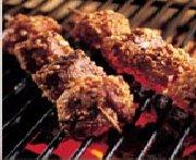 Lamb Kebabs with Peanuts