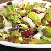 Romaine Salad with Sour Cream Maple Dressing