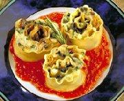 Vegetable Lasagna Swirls