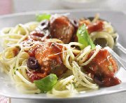 Meatball Linguini