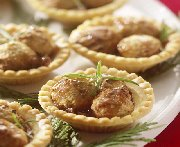 Chicken and Caramelized Onion Tarts