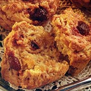 Cranberry Apricot Bran Muffins
