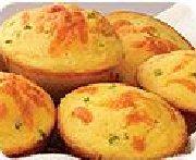 Cheesy Jalapeño Corn Muffins