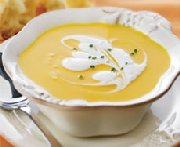 Gingered Carrot & Butternut Squash Soup