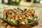 Maple-Style Grilled Spatchcock Chicken With Nuts