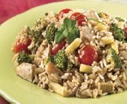 Chicken rice with harvest vegetables