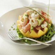 Shrimp, Avocado and Grapefruit Salad