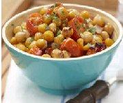 Tomato Chick Pea Salad