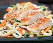 Sesame Chicken and Noodle Stir-fry