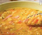 Pea Soup and Ham (crock pot)