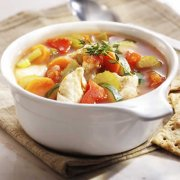 Hearty Vegetable and Chicken Soup