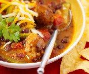 Texan Meat Ball Soup