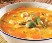 Soupe thaï au poulet 2