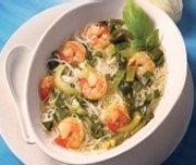 Shrimp and Bok Choy Tonkinese Soup
