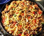 Spaghetti à la Mozzarella
