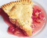 Shaker Rhubarb Pie