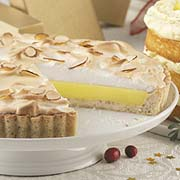 Lemon Pie with Almond Pastry